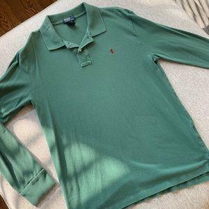 Boys 18-20 Long Sleeve Polo
